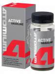 "Engine oil additive Atomium ""Active"" (Active Gasoline) to motor oil of the car"