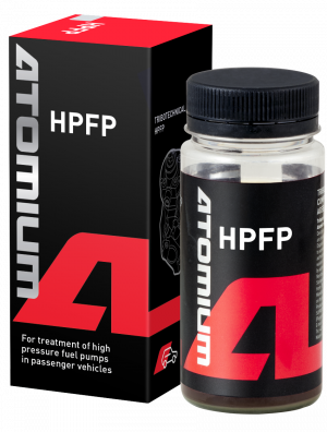 Diesel fuel pump additive | Atomium HPFP | to restore worn high pressure fuel pump