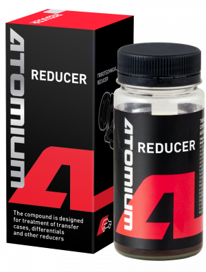 Differential and transfer case additive | Atomium REDUCER | to fix noise and vibrations in car transmission | removes noises (hum or whine) and vibrations.