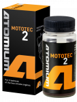 Engine oil additive ATOMIUM MOTOTEC 2 for the engine oil of 2-stroke engines of motorbikes and moto-technics